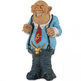 Geldbeluste manager beeldje Warren Stratford 3102