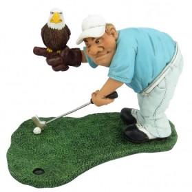 Golf Eagle putt beeldje Warren Stratford 1009gov
