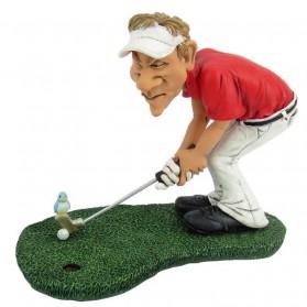 Golfer birdie beeldje Warren Stratford 2009