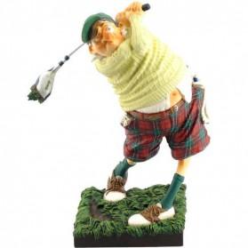 Golfer beeldje van Forchino
