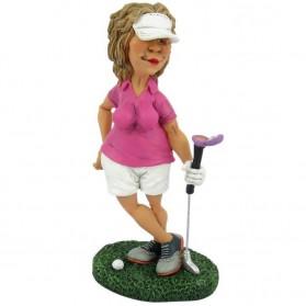 Golfster beeldje Funny Golf van Warren Stratford 9109gov