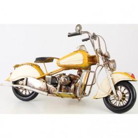 Grote gele blikken motor Harley Davidson stijl 702lb