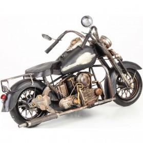 Grote zwarte blikken motor type Harley Davidson 802lb
