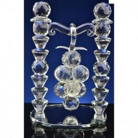 Hangende druiven van kristal