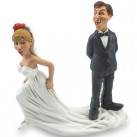 Hierblijven Funny Wedding beeldje van Warren Stratford 8002