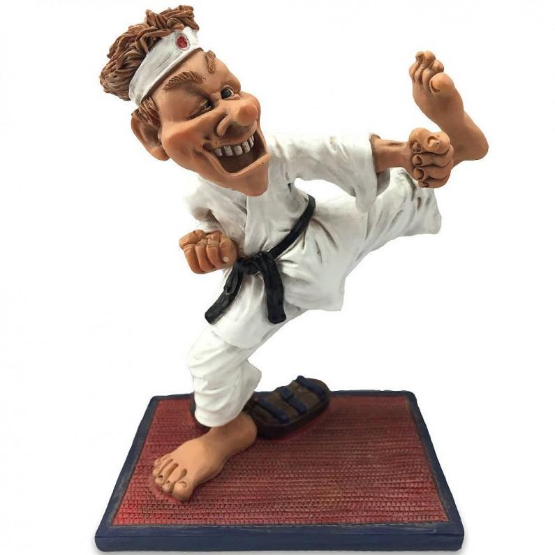 Karateka beeldje karate van Warren Stratford 9469
