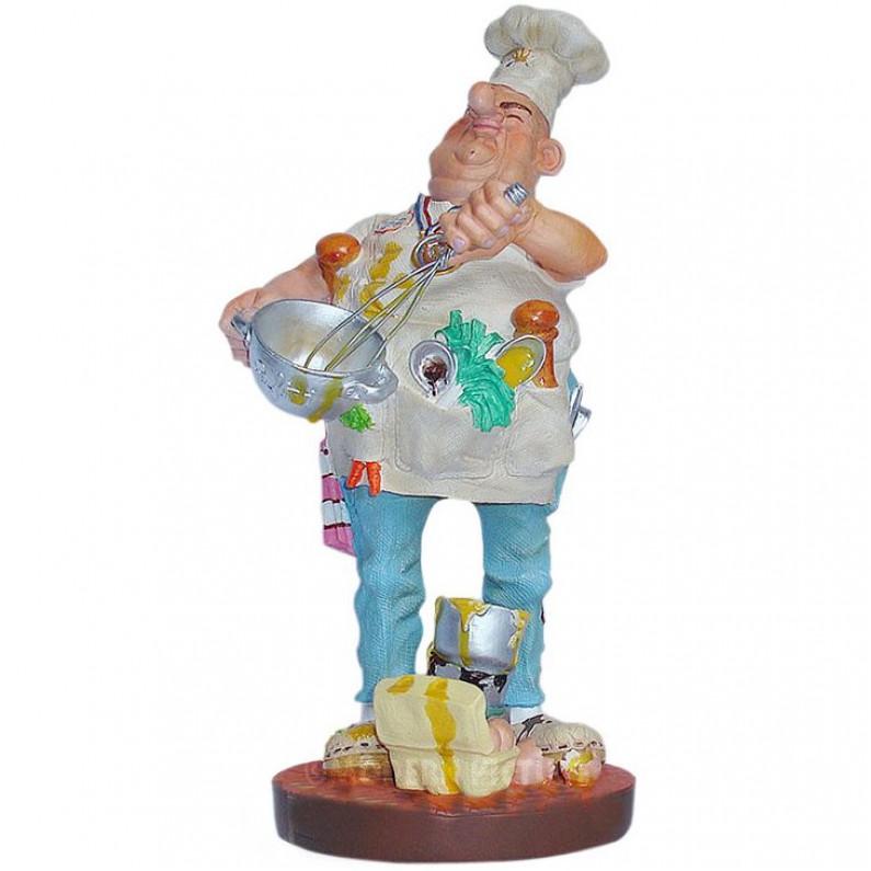 Chef kok beeldje van Profisti