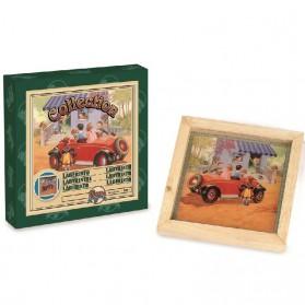 Vintage labyrinth auto spel van Cayro