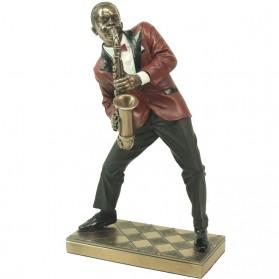 Saxofonist van Le monde du jazz beeldje
