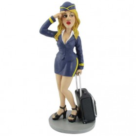 Leuke stewardess beeldje Warren Stratford 1249gov