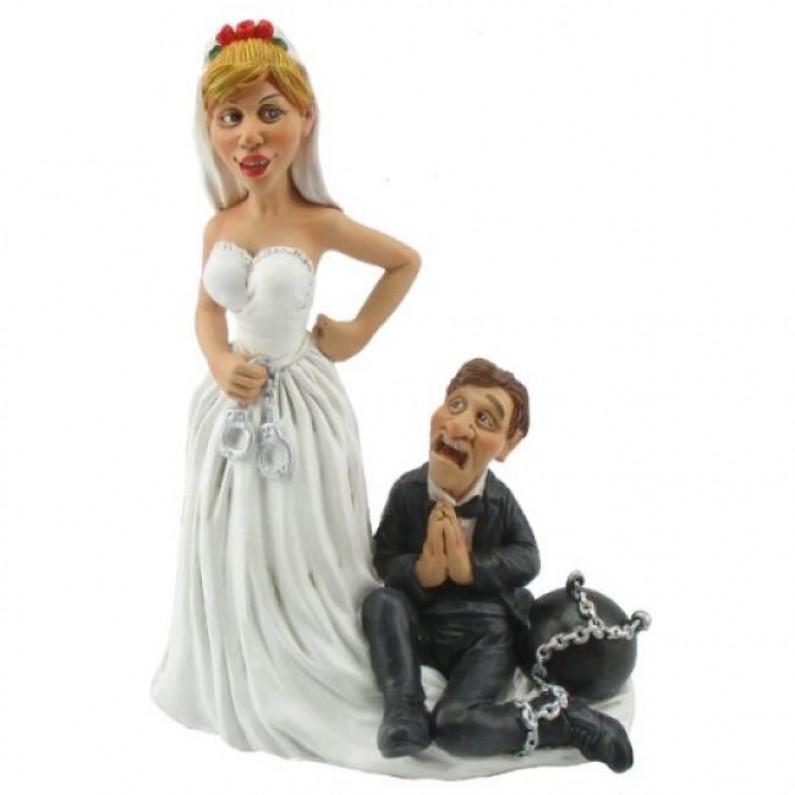 Levenslang Funny Wedding beeldje van Warren Stratford 5002
