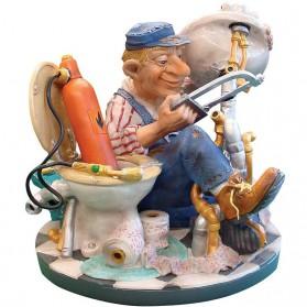 Loodgieter beeldje van Profisti