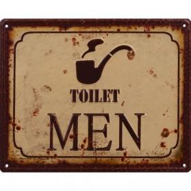 Luxe toilet decoratie bordje woman van blik 544sn - Originele toilet decoratie ...