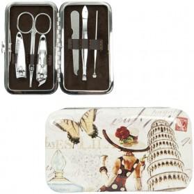 Manicuresetje met vlinder en toren van pisa 4010paf