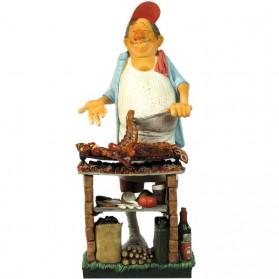 Barbecueman - mr. barbecue beeldje van Forchino