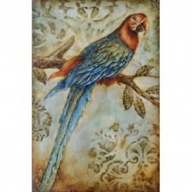 Papegaai schilderij op canvas