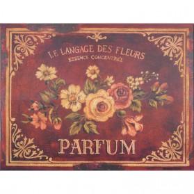 Parfum blikken decoratiebordje 843sn