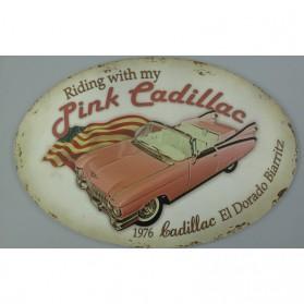 Pink Cadillac El Dorado Biarritz 1976 bordje 810723