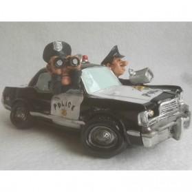 Politieauto beeldje en spaarpot van Warren Stratford 766