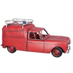 Renault brandweerwagen van blik Clayre and Eef 7002y6