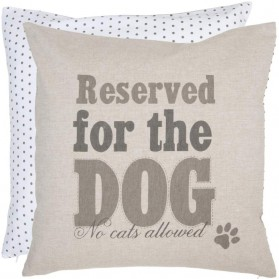 Reserved for the dog kussenhoes clayre and eef