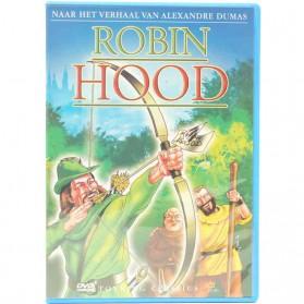 Robin Hood tekenfilm op DVD