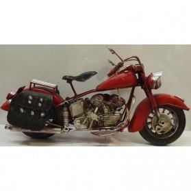 Rode blikken motor in Harley Davidson stijl