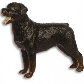 Rottweiler - beeldje- gietijzer - 17.1x5.1x14cm