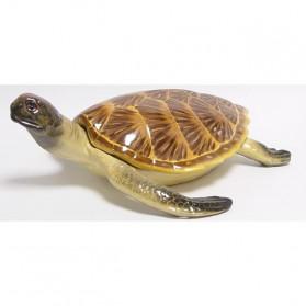 Schildpad van porselein geschikt als opbergbox 91cw