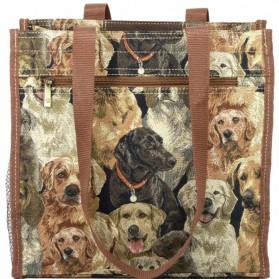 Shopper Gobelin met honden