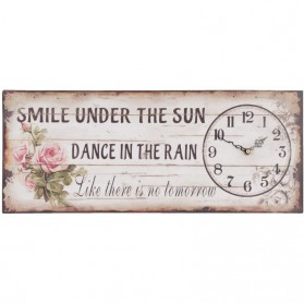 Smile under the sun wandklok van Clayre and Eef 0920lk6