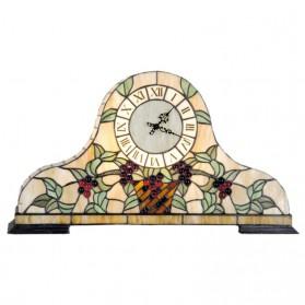 Staande klok in tiffany stijl - pendule van Clayre and Eef 2429ll5