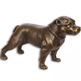 Staffordshire terrier - beeldje - gietijzer - 32.9x13x19.8cm