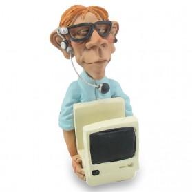 Tablethouder computerexpert - nerd Warren Stratford 9649