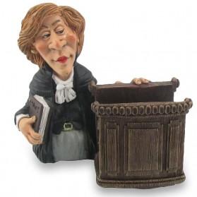 Tablethouder vrouwelijke rechter beeldje Warren Stratford 1749