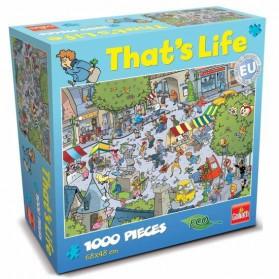 Het dorp Thats life puzzel van Goliath 1000 stukjes village