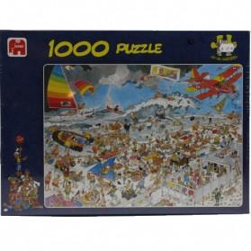 Dagje aan het strand Jan van Haasteren 1000 stukjes puzzel