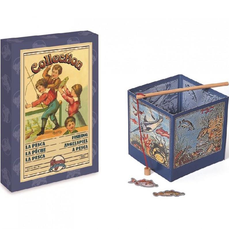 Ouderwets vis - hengelspel van Cayro collection