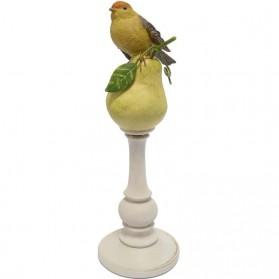 Vogel op peer beeldje