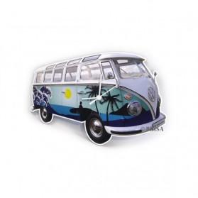 Volkswagen bus wandklok surf 50cwub
