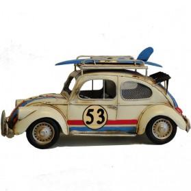 Volkswagen Kever Herbie blikken auto als fotolijst en spaarpot