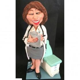 Vrouwelijke dokter beeldje Warren Stratford 25cm 810w