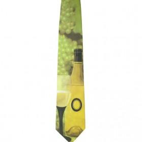 Wijn stropdas van Ralph Marlin