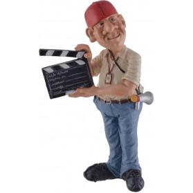 Beroepen beeldje regie camera assistent Warren Stratford
