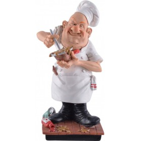 beroepen beeldje chef kok Warren Stratford