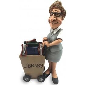 Beroepen  beeldje  bibliothecaresse  bibliotheek  medewerkster  Warren  Stratford