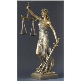 Beeld vrouwe justitia maddeco