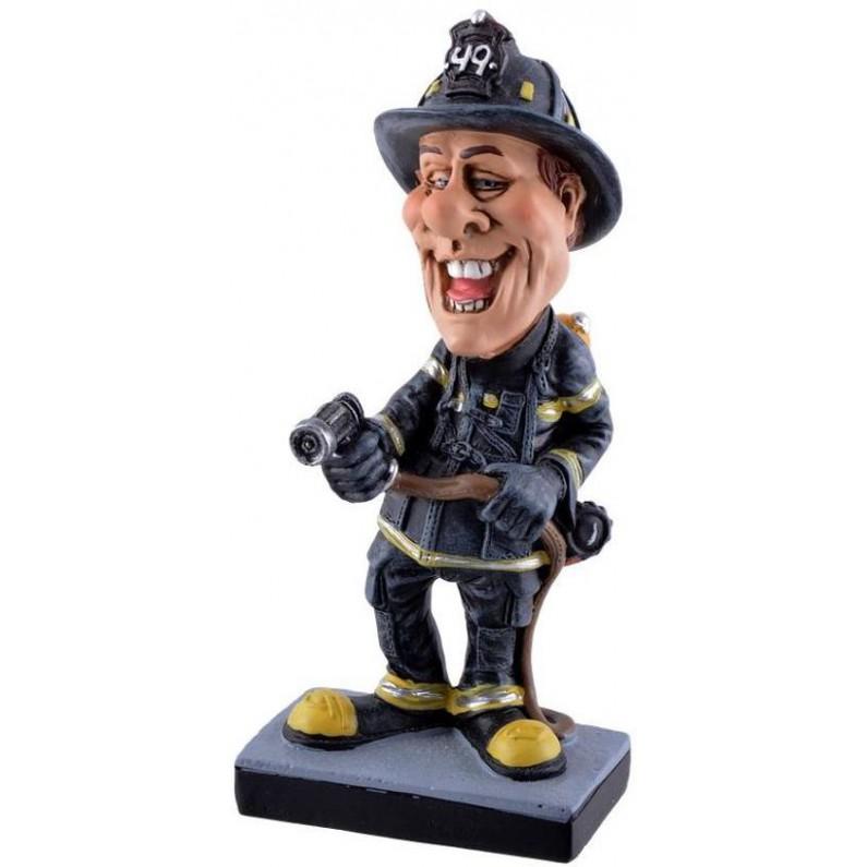 Warren  Stratford  Brandweerman  brandslang  beroepen  beeldje