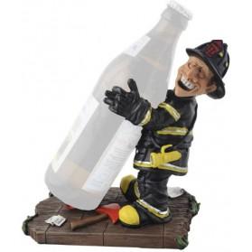 Beroepen beeldje brandweerman wijnfleshouder Warren Stratford