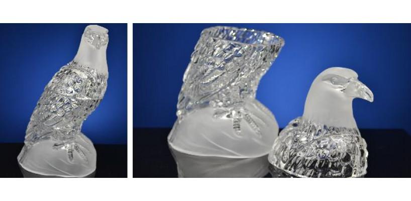 Eindelijk kristal in ons assortiment- beeldjes vazen kandelaars en bonbonnieres